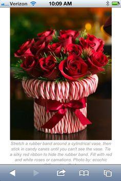 caramelos y flores
