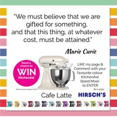 Media Tweets by Margaret Hirsch (@MargaretHirsch) | Twitter Positive Thinker, Kitchenaid Stand Mixer, Marie Curie, Monday Motivation, How To Apply, Colour, Twitter, Color, Calla Lily