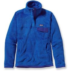 Patagonia Re-Tool Snap-T Fleece Pullover ($119) ❤ liked on Polyvore featuring tops, jackets, sweatshirt, fleece pullover, snap top, fleece tops, sweater pullover and patagonia pullover