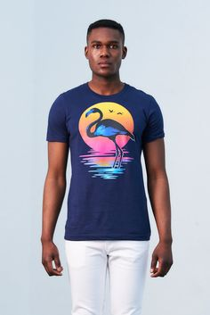 """""""FLAMINGO"""" LIMITED EDITION GRAPHIC TEE https://akadewear.com/streetwave/akade-flamingo-limited-edition-graphic-tee"""