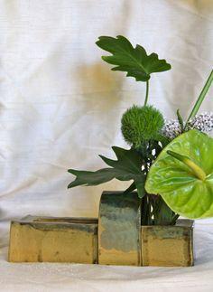 Ceramic Ikebana Vase. $44.50, via Etsy.