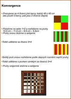 Patchwork = barevná geometrie - Fotoalbum - Návody