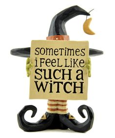 Take a look at the 'Such A Witch' Block on #zulily today!