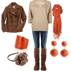 Oranges & Browns
