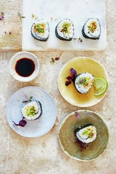 Make your own vegan asparagus sushi with this delicious recipe from Jamie…
