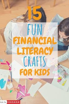 Crafts + valuable money lessons + quality time with the kids! Parents, try one of these financial li Fun Learning, Teaching Kids, Money Activities, Daisy, Financial Literacy, Financial Goals, Lessons For Kids, Life Lessons, Kids Education