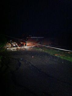 Twitter / cjfrancisco: Several houses in El Reno damaged ...