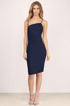 Honest Asymmetrical Slip Dress at Tobi.com #shoptobi