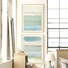 Cote De La Mer - knock-off DIY painting tutorial.