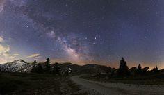 The Milky Way over Turkey