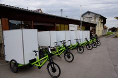 Eine Musketierflotte verlässt die Produktion in Mössingen   #Lastenrad #Cargobike