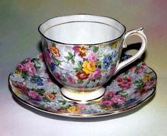 Floral Chintz Royal Albert Tea Cup and Saucer Set