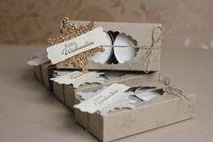 Schöne kleine Teelichter-Verpackungen