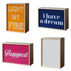 Lightthink Box, 30x21cm by Seletti at Dotmaison