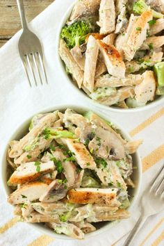 Chicken and Broccoli Penne Pasta