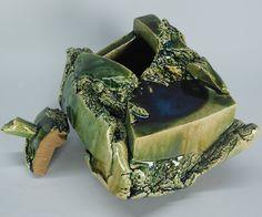 HIGASHIDA Shigemasa (1955-) - oribe box