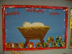 christmas bulletin boards for preschool - Lavasoft Secure Search Yahoo Image Search Results Jesus Bulletin Boards, December Bulletin Boards, Christian Bulletin Boards, Winter Bulletin Boards, Preschool Bulletin Boards, Bullentin Boards, Preschool Christmas, Christmas Activities, Preschool Crafts