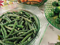 Parmesan-Garlic Butter Green Beans | Gluten Freely