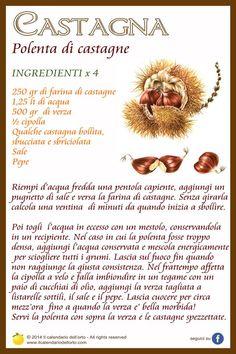 Castagna: polenta di castagne