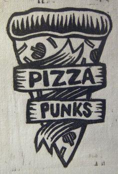 Pizza Punks Tattoo.*
