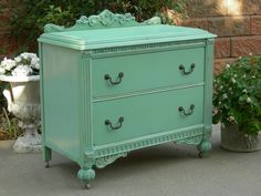 CUSTOM DRESSER Order Your Own Painted Dresser For Bedroom or Bath Vanity The Shabby Chic Furniture Painted Antique Furniture Shabby Dresser