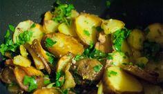 Sarladaise potatoes with duck confit #yummy www.valenbarcelona.com & https://facebook.com/Valenbarcelona.es