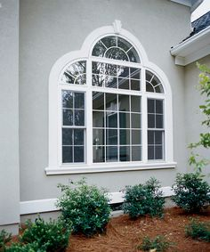 ProVia offers shaped vinyl windows which can add dramatic accents and endless style to your home.