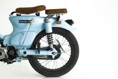 The Little Blue C70 by Deus Bali | Gascap Motor's Blog