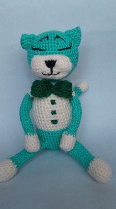 Amineko Cat, crochet cat, amigurumi crochet toy, crochet stuffed animal, crochet #Milevknitting