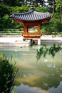 Garden in korea.