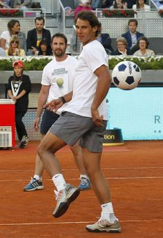 PHOTOS: Rafael Nadal and Iker Casillas host Charity Day at the Mutua Madrid Open | Rafael Nadal Fans