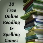 Free Online Reading and Spelling Games