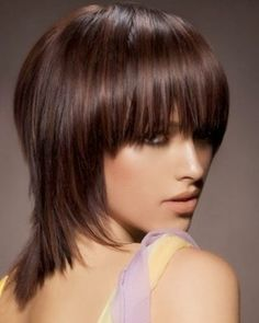 Well Liked Medium Short Hairstyles - Cute Easy Hairstyles