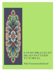 Bead Loom Vintage Motif 6a Bracelet Pattern by MyTreasureIsland
