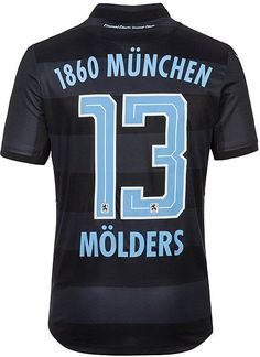 392082d611 The 1860 München home and away kits introduce bespoke designs