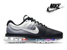 new style 6be5e a140d Nike courir Nike Air Max 2017 Paniers de sport en uranium Femmes Noir blanc  849559 010