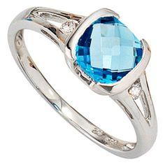 Engagement Rings, Amazon, Jewelry, Fashion, Blue Topaz, Jewlery, Rings, Rings For Engagement, Jewellery Making