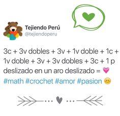#Crochet: la formula del <3 !