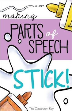 Teaching ideas 462111611749416565 - Making Parts of Speech Stick – ideas for teaching parts of speech for elementary teachers Source by mfriermood Parts Of Speech Activities, Grammar Activities, Teaching Grammar, Grammar Lessons, Teaching Writing, Writing Activities, Teaching English, Teaching Resources, Teaching Ideas