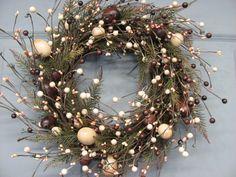 Rustic Egg Door Decor - Spring Wreath - Easter Wreath - Primitive Wreaths - Easter Home Decor - Primitive Country. $56.95, via Etsy.