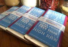 Raw, sugar-free chocolate that has 2 full servings of weight-management superfoods :)