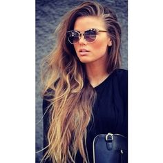 Tumblr Hair, Don't Care <3 ❤ liked on Polyvore featuring hair, people, girls, hairstyles and pictures