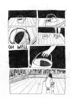 """""""flood"""" comic for the new Kovra Zine IV. martha verschaffel"""