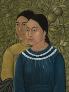 Frida Kahlo (1907-1954, Mexican), ca. 1929, Dos Mujeres, Salvadora y Herminia (Two Women (Savior and Herminia). Before it moved to the Museum of Fine Arts, Frida Kahlo's Dos Mujeres (Salvadora y Herminia) belonged to the family of American industrialist Jackson Cole Phillips, who purchased it from Kahlo in 1929. Museum of Fine Arts, Boston.