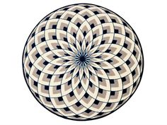 Dahlia carpet by Normann Copenhaguen