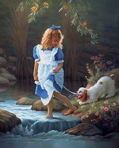 Realista Romântico figurativa painter-
