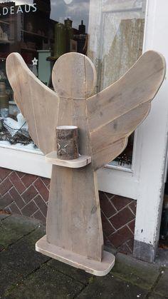 Steigerhouten Engel XXL