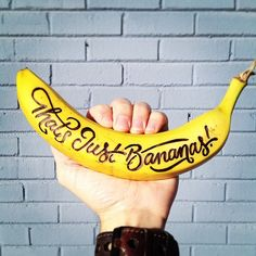 That's just bananas! /