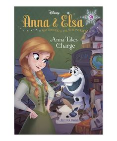 Look what I found on #zulily! Frozen Anna & Elsa #9: Anna Takes Charge Hardcover #zulilyfinds