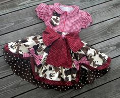 OMGGGG!!! Toddler Cowgirl Pageant Western Poofy Skirt and Blouse Set, Over the Top Made to Order in sizes 12-18 month, T2-T3 and 4-5 on Etsy, $149.00